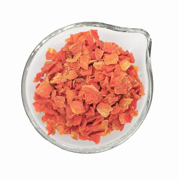 Cenoura desidratada