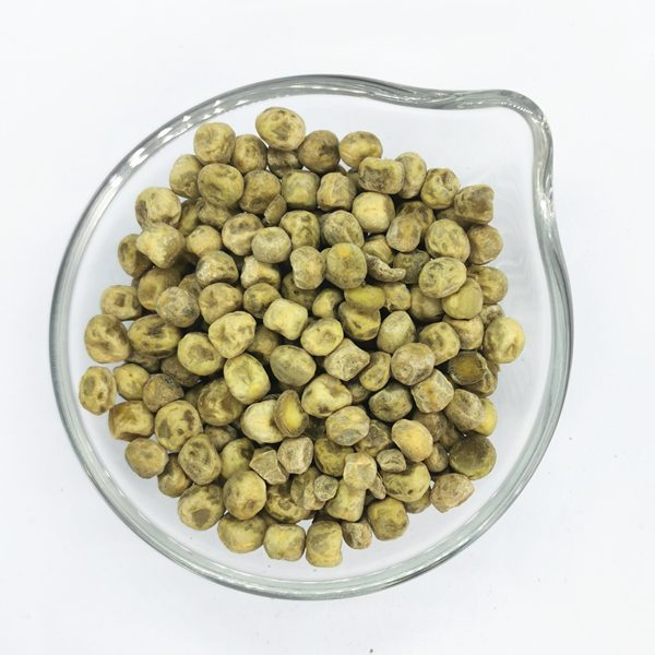 Dehydrated green peas