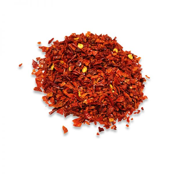 Dehydrated red bell pepper